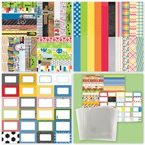 Picture of Back to School/Sports Bundle w/Traditional Page Protectors